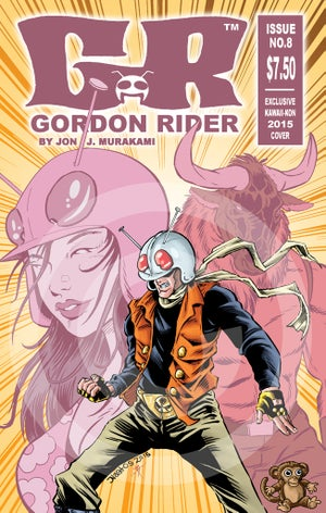 Gordon Rider Issue #8