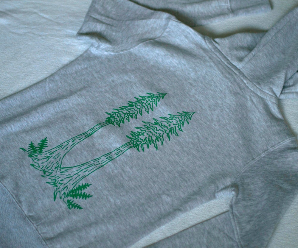 Image of Redwood Twins Organic Cotton Hoodie- Women's