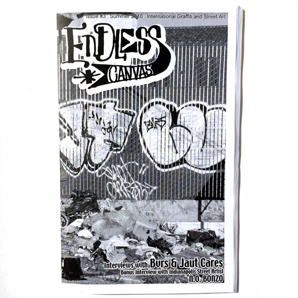 Endless Canvas - Issue #3 - Black and White