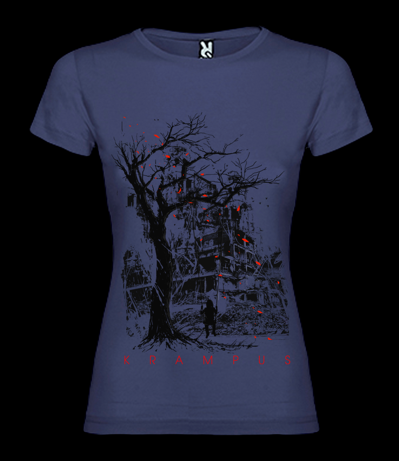 Image of Krampus - Aftermath - Female t-shirt - purple