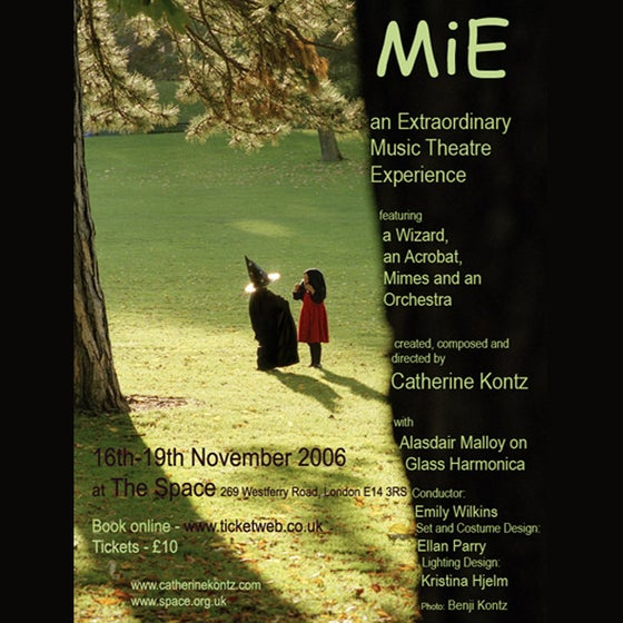 Image of MiE - MIME OPERA - LIVE AT THE SPACE, LONDON, 2006 - DVD
