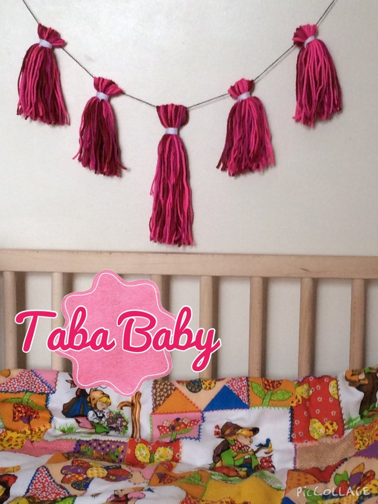 Image of Nursery Tassel Garland