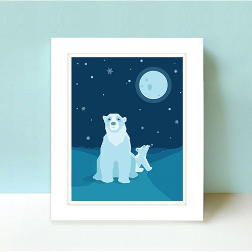 Image of Limited Edition Polar Bear Poster