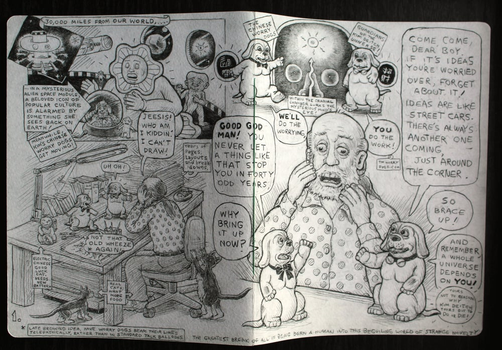 Image of Sketches from 'A Deitch Miscellany' - Kim Deitch