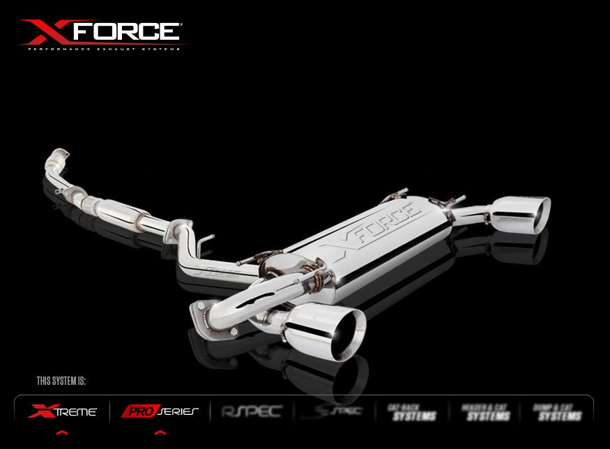 "Image of XForce Header-Back System 3"" BRZ/FR-S"