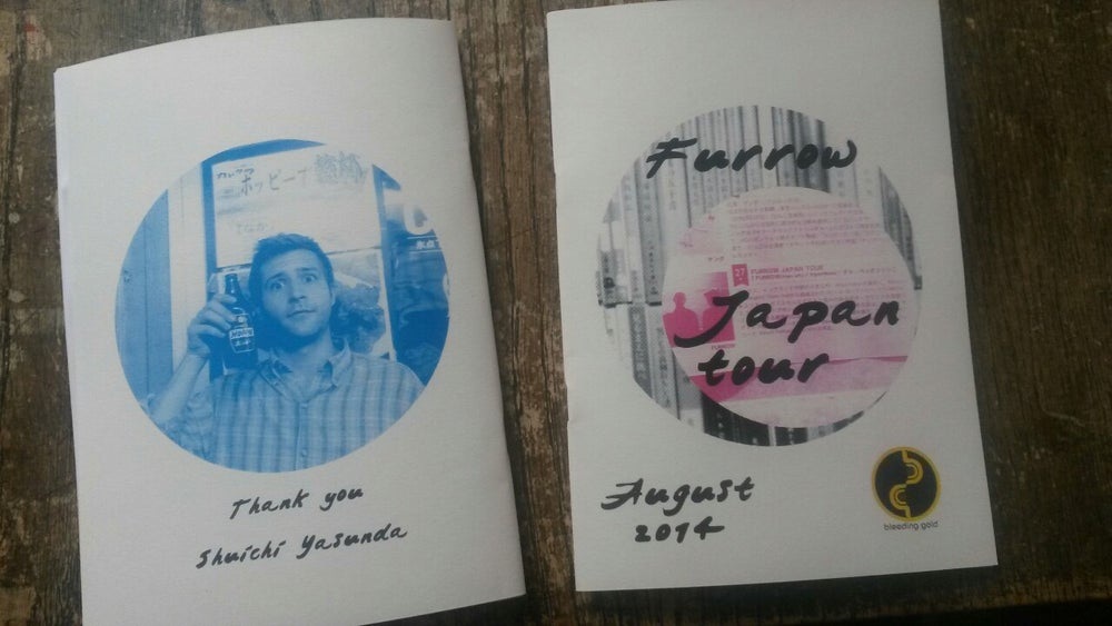 Image of Japan tour zine