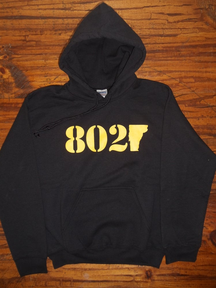 Image of Adult & Kids 802 Vermont Hooded Sweatshirt - Vermont Sweatshirt - 802 Sweatshirt - 802 Hoodie