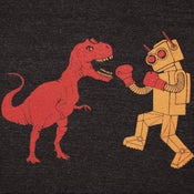 Image of Dinosaur Vs Robot T-shirt