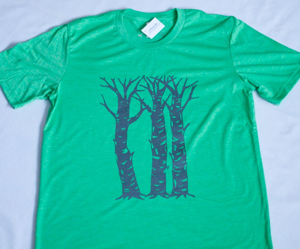 Image of Birch Trees- Men's Tee