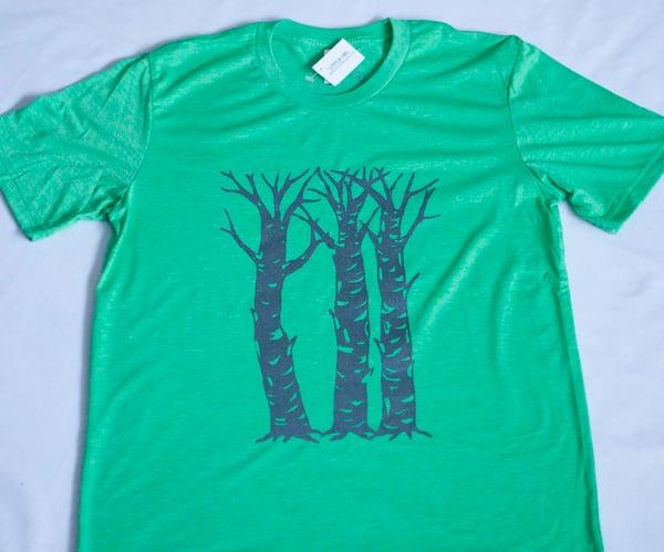Image of Birch Trees- Men's Tee