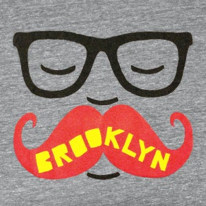 Image of Brooklyn Mustache T-shirt