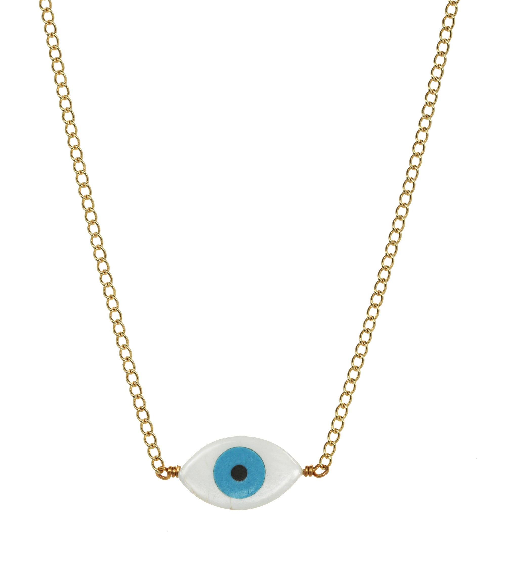We see stars jewelry evil eye protection choker necklace image of evil eye protection choker necklace aloadofball Image collections