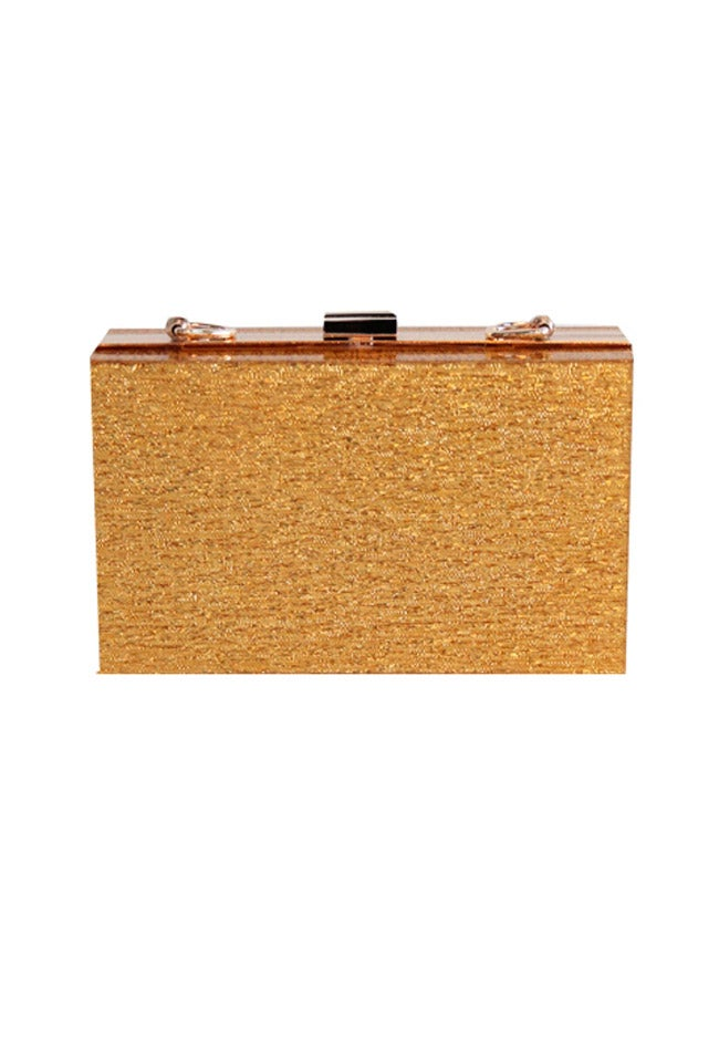 Image of GOLD CLUTCH