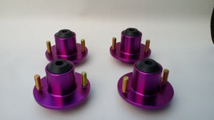Image of Aftermarket Top Hats - Set of 4 Aluminum