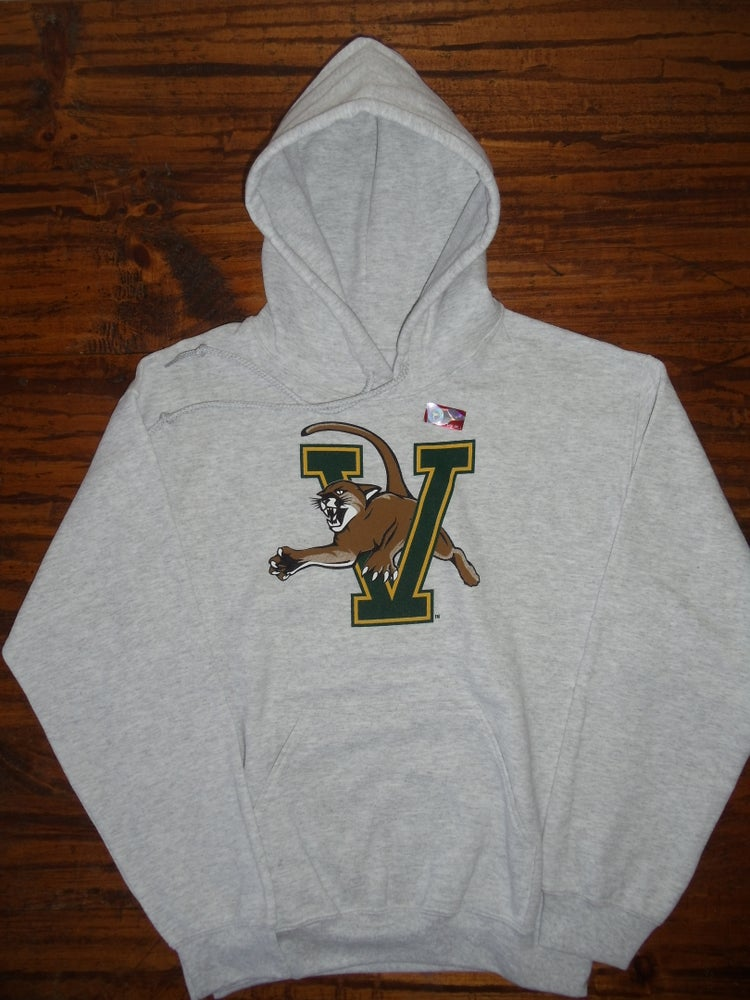 Image of University of Vermont (UVM) VCAT Catamount Hooded Sweatshirt - Available in Kids & Adult Sizes
