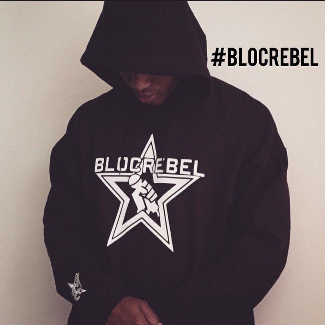 Image of Blocrebel OG Logo Hoodie