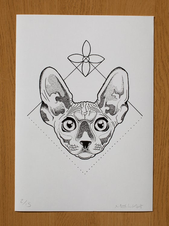 Image of A4 Sphynx of Creation