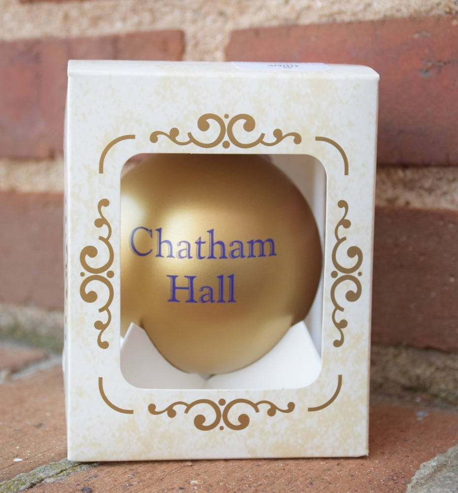 Image of Chatham Hall Christmas Ornament