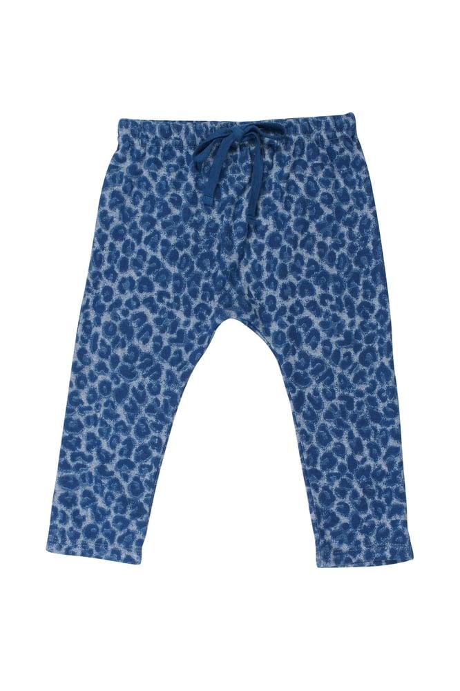 Image of SS15 <> Pantalon sarouel bébé garçon Soft Gallery « Hailey Dusty Leo » léopard <> 3M-24M