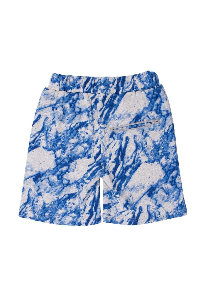 Image of SS15 <> Bermuda garçon Soft Gallery « Bruno Marble Blue » <> 4A-10A
