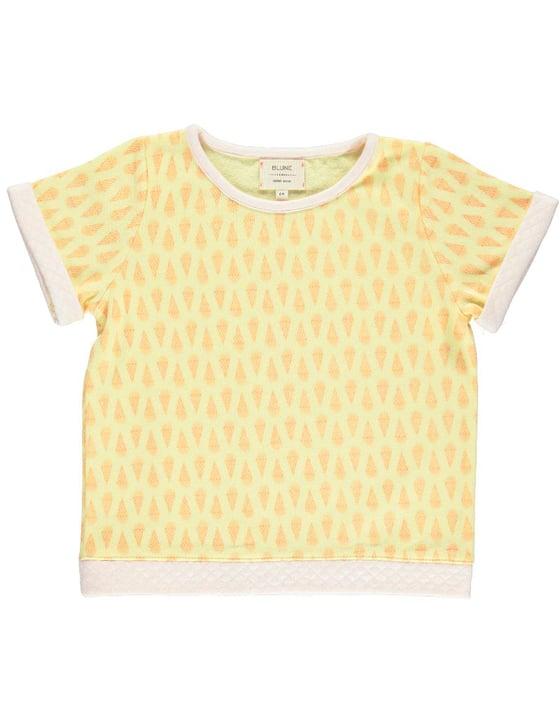 Image of SS15<>Sweat-shirt manches courtes bébé garçon Blune « Yummy » <> 2A-4A