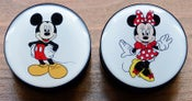 Image of Mickey Mouse & Minnie Mouse Disney Flesh Plugs - Pair