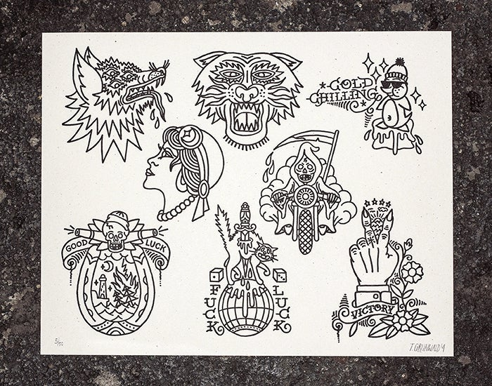 Image of Flash Sheet 03