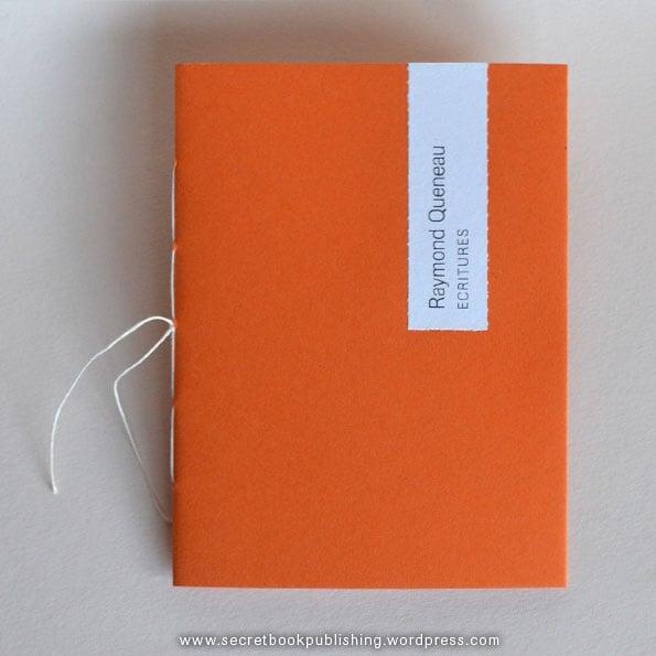 Image of Raymond Queneau - Ecritures chapbook