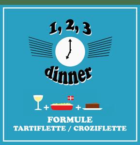 Image of EDITION SAVOYARDE ★ FORMULE CLASSIQUE : TARTIFLETTE / CROZIFLETTE
