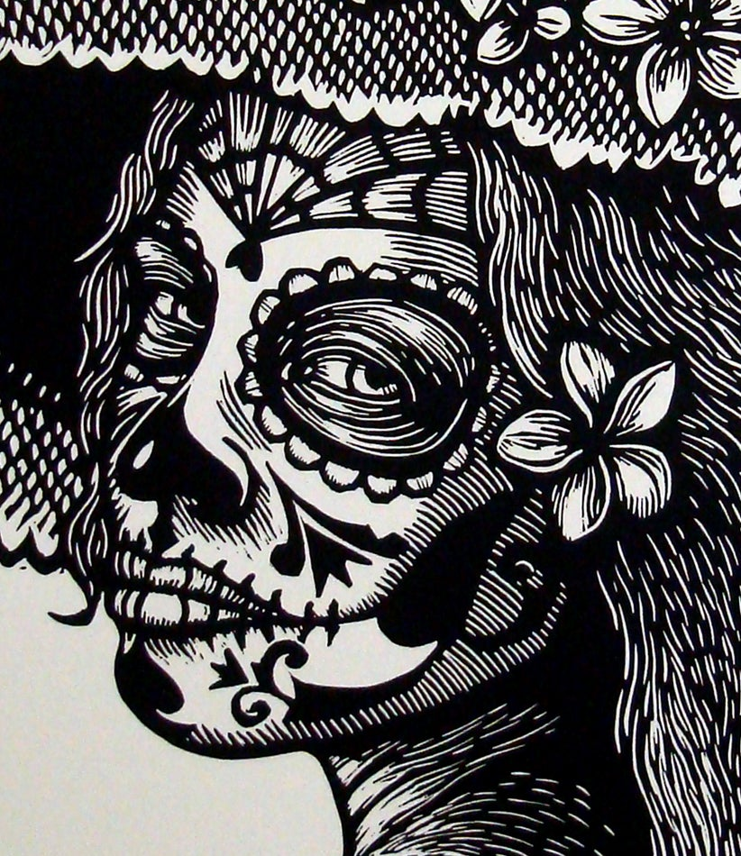 Image of Catrina con Sacuanjoches Men