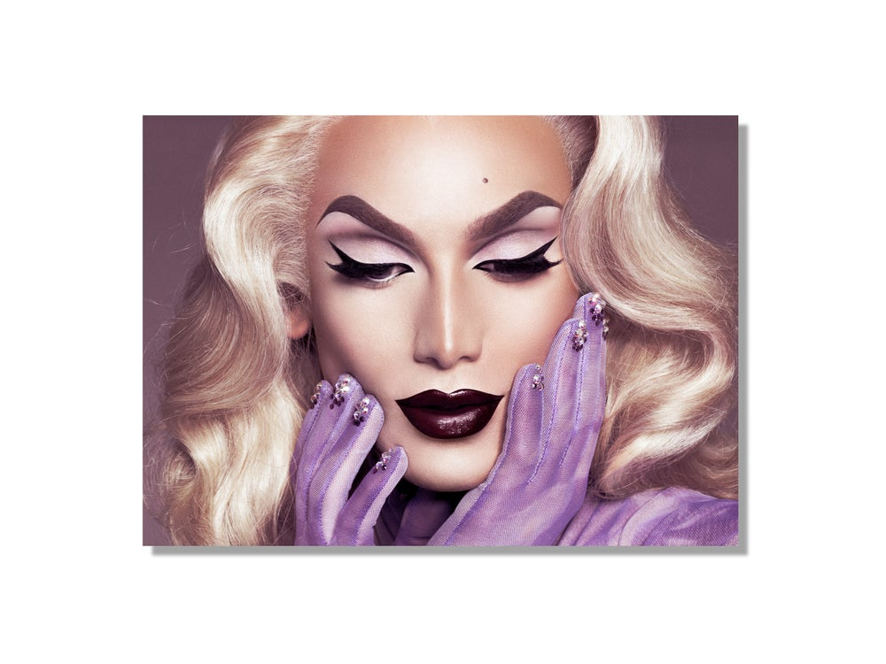 Image of Miss Fame is SuperNatural Blonde (5 x 7)