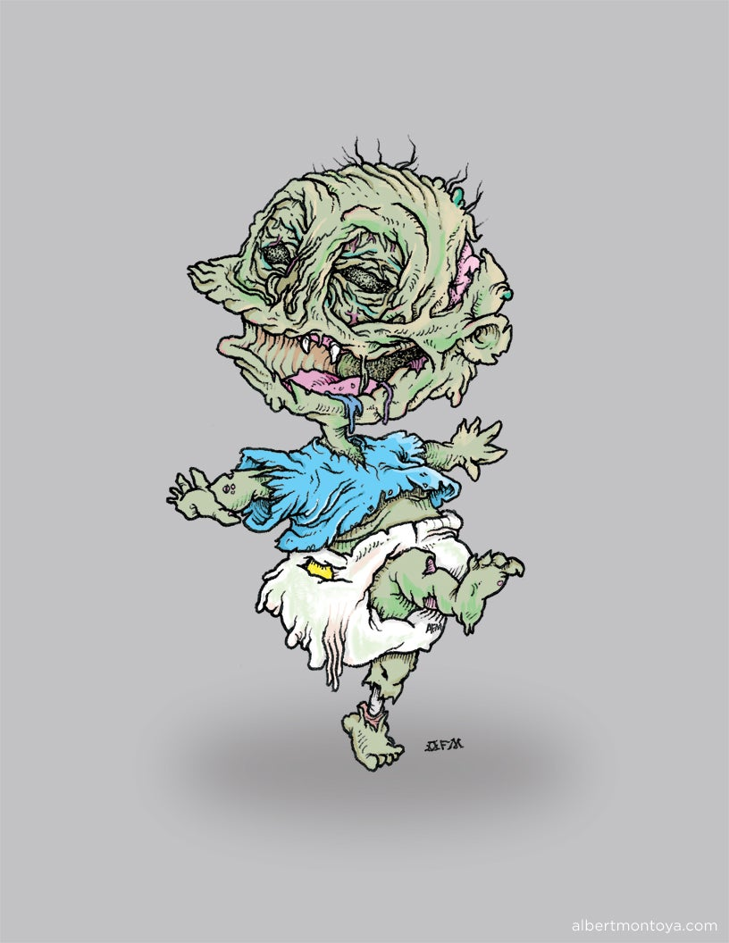 "Image of Print ""Zombie Pickels"""
