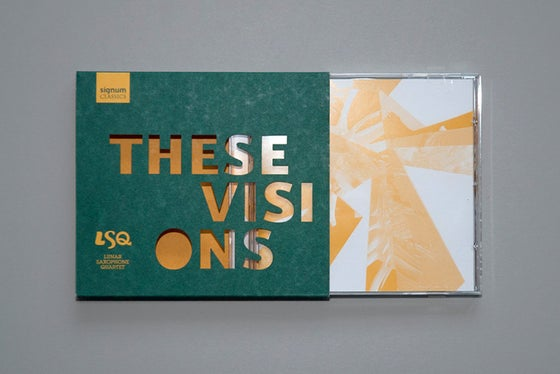 Image of These Visions - Single disc CD