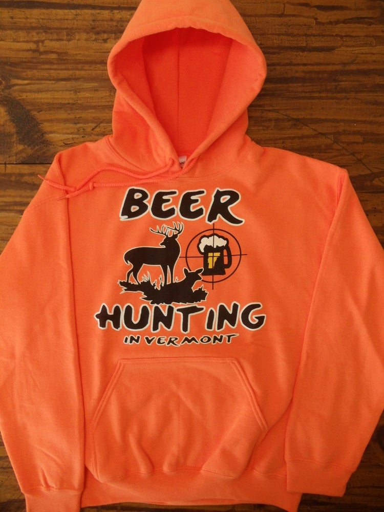 Image of Beer Hunting Hooded Sweatshirt - Available in 2 colors