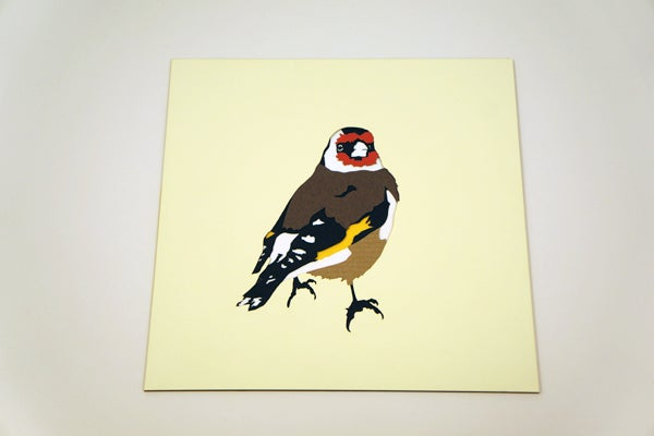 Image of Paper Goldfinch Poster