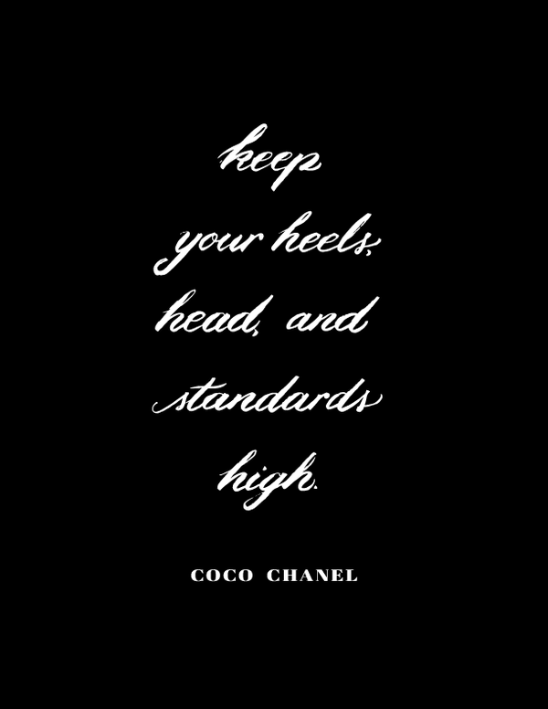Coco - Head, Heels & Standards High - HOUSE15143