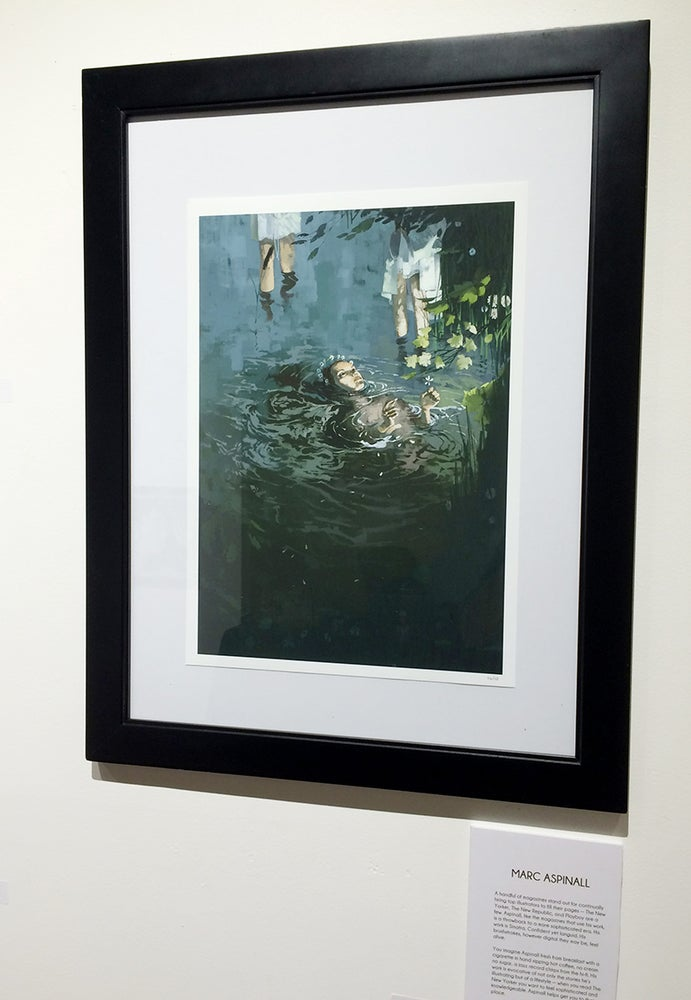 Image of Marc Aspinall's 'Epiphany'
