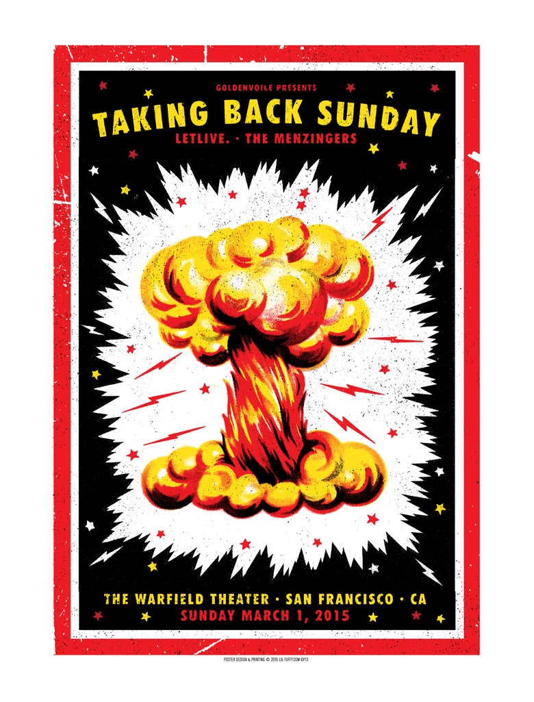 Image of Taking Back Sunday - San Francisco 2015