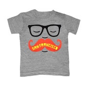 Image of KIDS - SF Mustache - Size 2T, 4T, 5/6