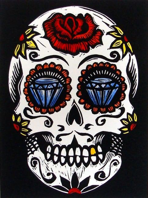 """Image of """"Sugar Skull"""""""