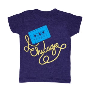 Image of KIDS - Chicago Cassette - Size 4T, 5/6, 8