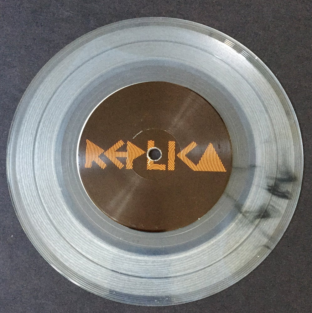 "Image of REPLICA - ""S/T"" 7"" EP RE-PRESSED ON CLEAR!"