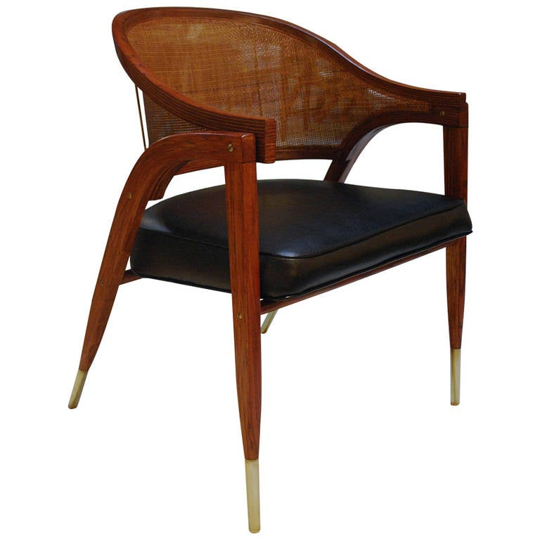 Image of Edward Wormley A-Frame desk Chair