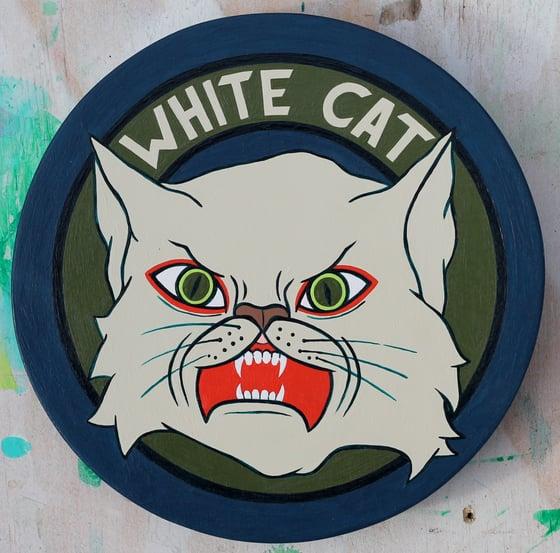 Image of White Cat