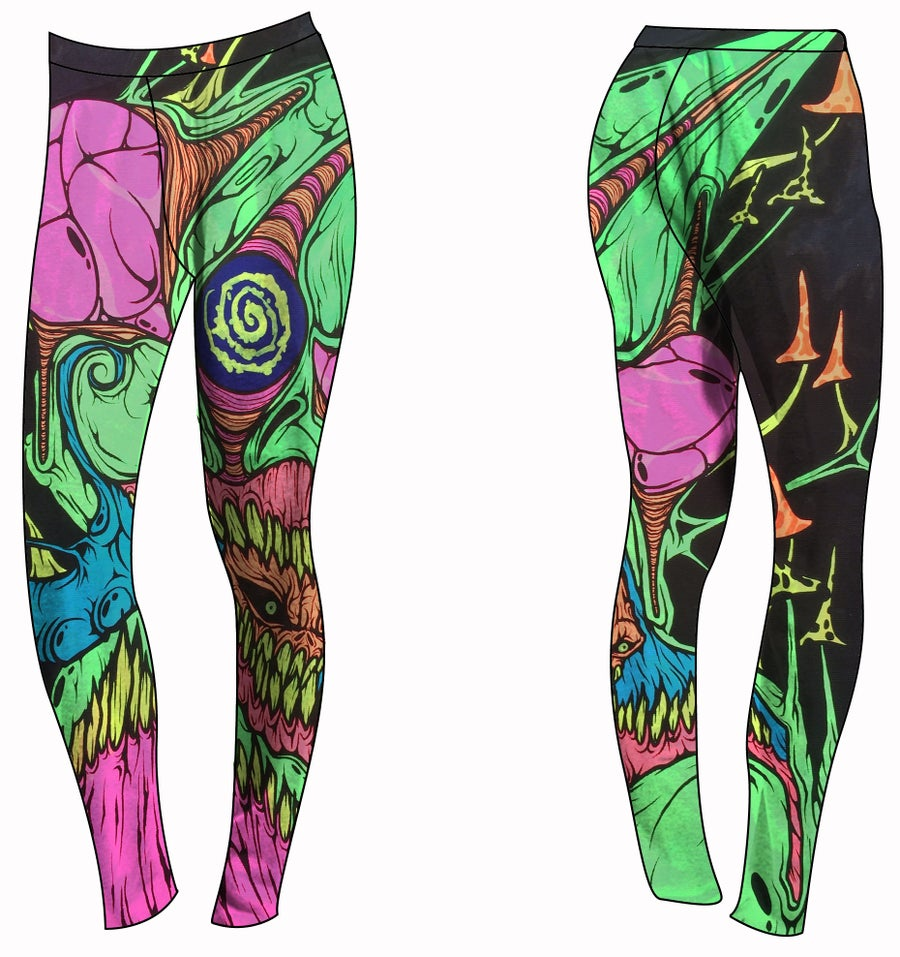 Image of The Blacklight Never Looked So Good Leggings