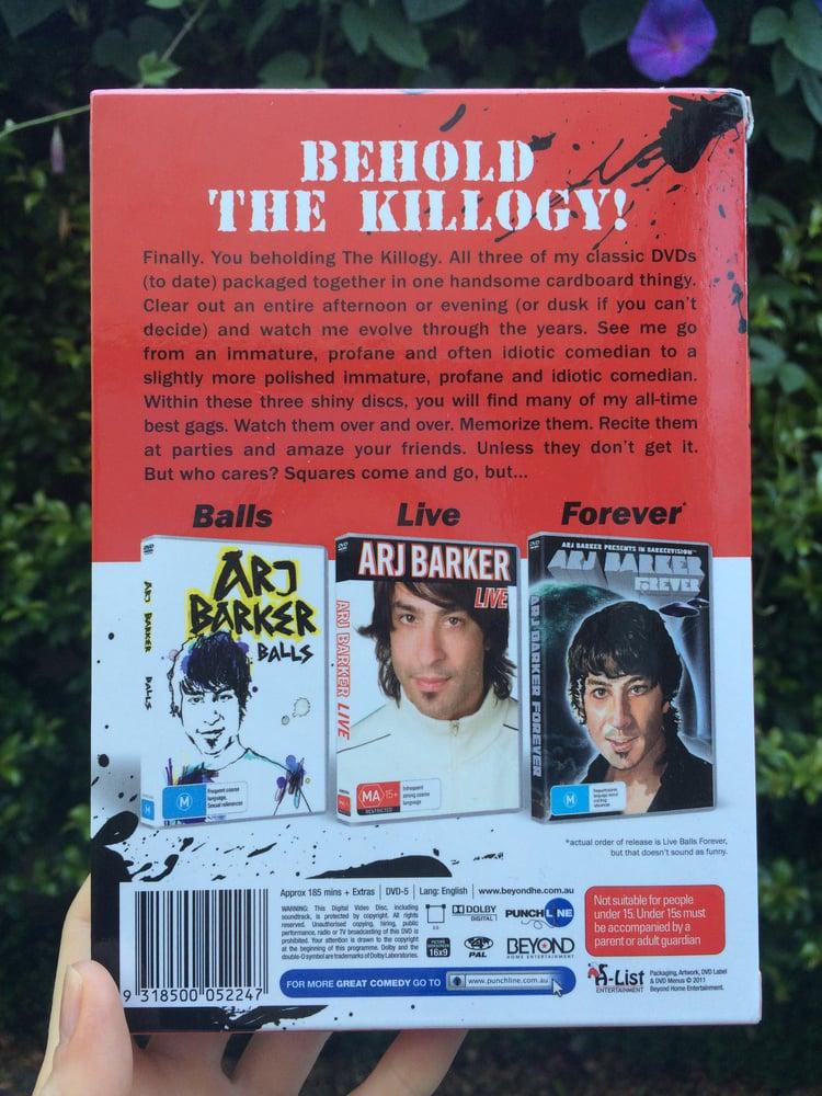 Image of The Killogy- 3 DVD Box Set