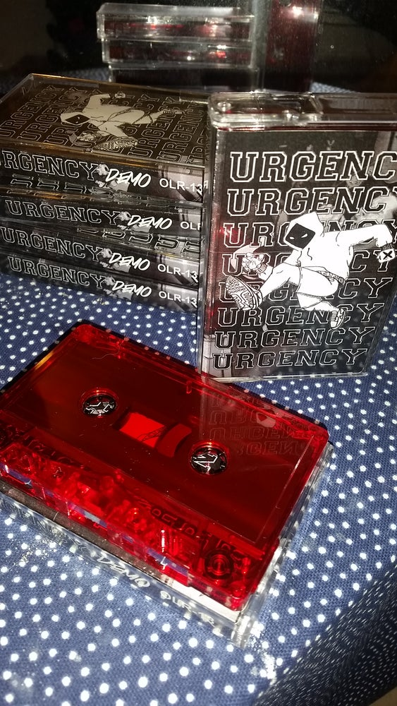 Image of URGENCY DEMO #1 CASSETTE TAPE