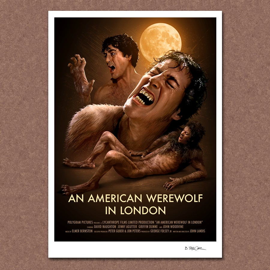 Image of An American Werewolf in London Poster