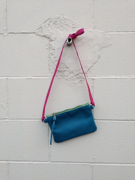 Image of Mini Chelsea Crossbody in Turquoise