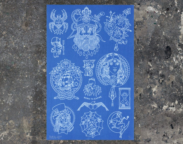 Image of Blueprint Flash Sheet
